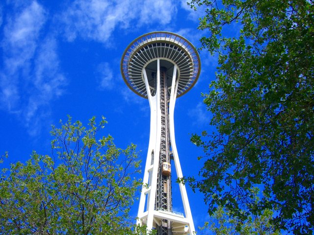 Seattle Space Needle - built 1962